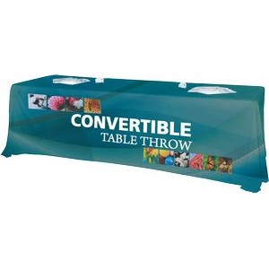 Convertible Premium Dye Sublimated Full Table Throw
