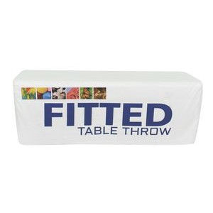 Fitted 8' Dye Sub Printed Table Throw