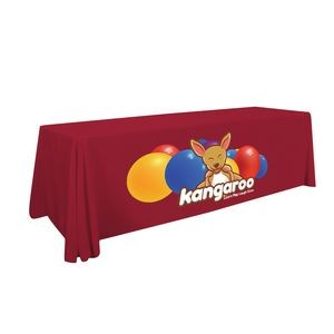 8' Standard Table Throw (Full-Color Front Only)